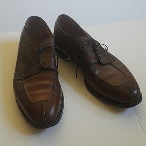 Allen Edmonds Hancock Brown Tie Oxford Dress Shoe